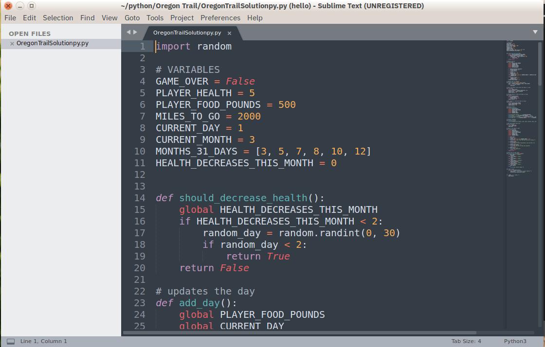 редактор кода Sublime Text