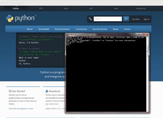 cкачать Python и установить на Linux, Mac OS, Windows