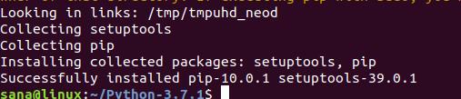установка языка программирования Python