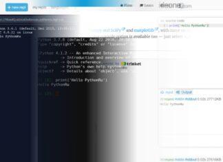 онлайн компилятор python 3