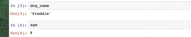 обращение к переменным в Jupyter Notebook