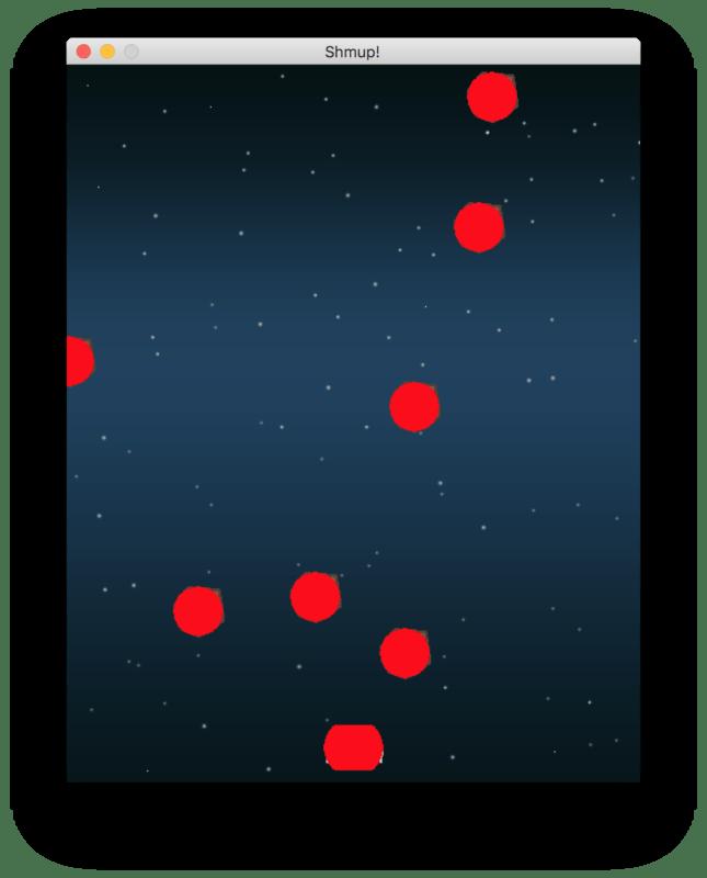 Красный круг поверх изображения