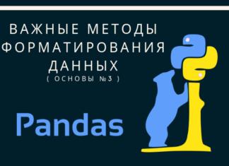 Основы Pandas №3 // Важные методы форматирования данных