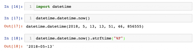 Встроенный модуль №4: datetime