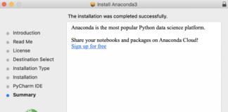 Как установить Anaconda на macOS