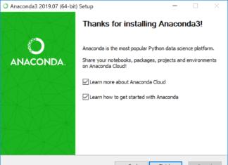 Как установить Anaconda на Windows