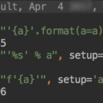 Форматирование в Python с помощью f-строк