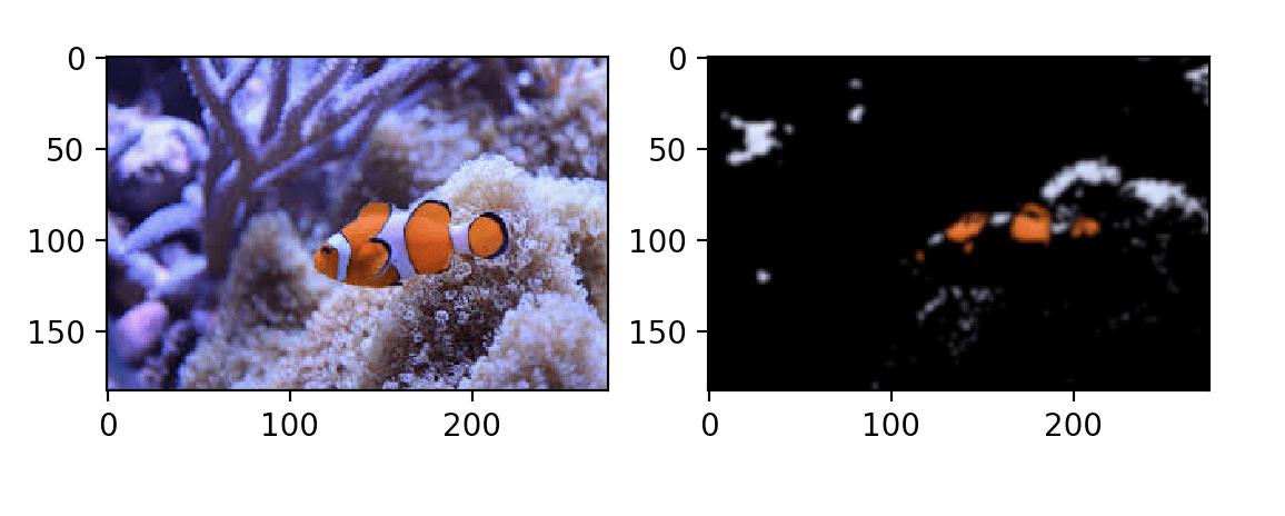 Сегментации рыбы, пример 2