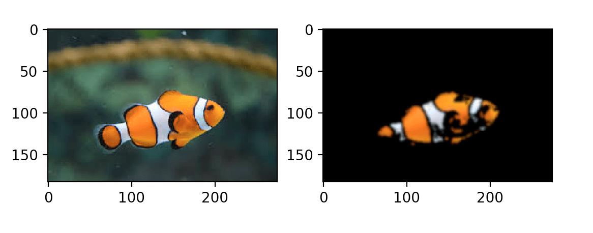Сегментации рыбы, пример 3