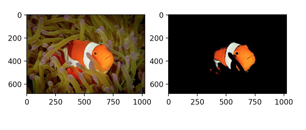 Сегментации рыбы, пример 4