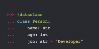 DataClass в Python