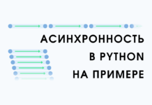 Асинхронность python на примере
