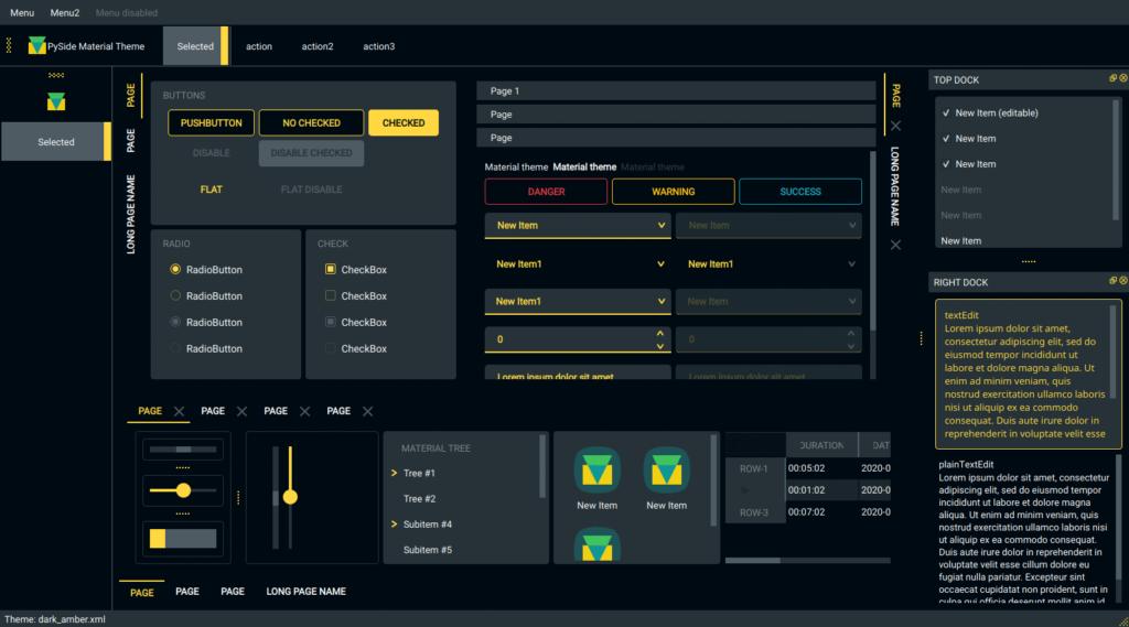 Лучшие GUI библиотеки Python 2020