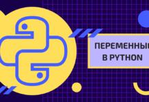 Переменные в python для начинающих