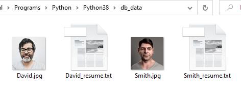 Получение изображения и файла, сохраненных в виде BLOB