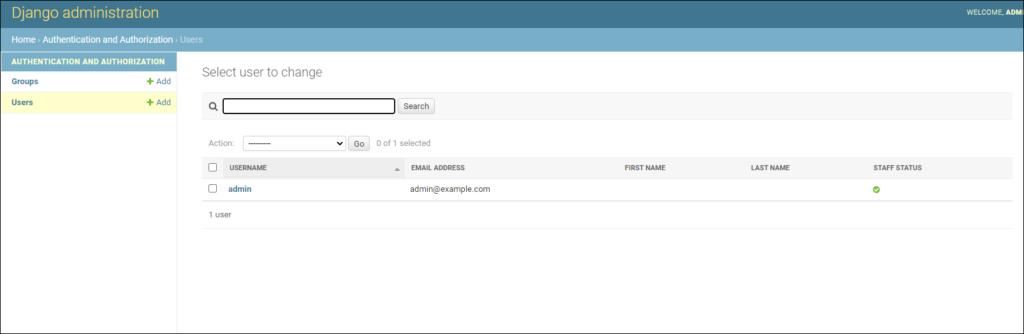 админ-панель сайта