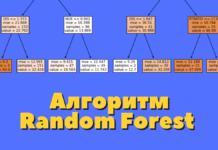 Алгоритм классификации Random Forest на Python