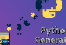 yield python